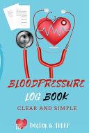 Blood Sugar Log Book Diabetes