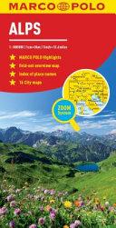 Alps Marco Polo Map