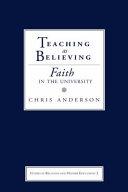 Teaching as Believing