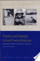 Priorities And Strategies In Rural Poverty Reduction Book PDF