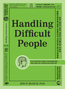 Handling Difficult People [Pdf/ePub] eBook