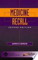 Medicine Recall Book
