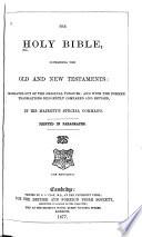The Holy Bible ... Pdf/ePub eBook