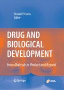Drug and Biological Development Book