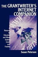 The Grantwriter s Internet Companion