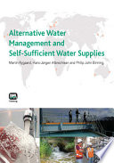 Alternative Water Management And Self Sufficient Water Supplies Book PDF