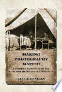 Making Photography Matter