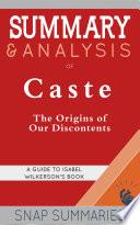 Summary   Analysis of Caste