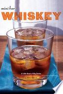 Mini Bar  Whiskey Book