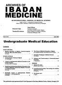 Archives of Ibadan Medicine