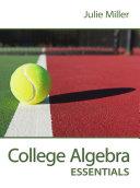 College Algebra Essentials [Pdf/ePub] eBook