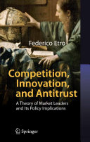 Competition  Innovation  and Antitrust