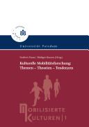 Kulturelle Mobilitätsforschung