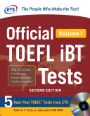 Official TOEFL iBT   Tests Volume 1 2nd Edition  ebook