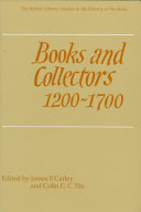 Books And Collectors 1200 1700