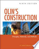 Olin's Construction  : Principles, Materials, and Methods
