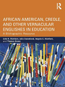 African American, Creole, and Other Vernacular Englishes in Education Pdf/ePub eBook