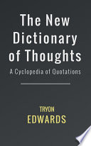 The New Dictionary of Thoughts