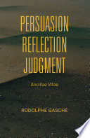 Persuasion  Reflection  Judgment