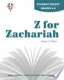 Z for Zachariah Student Packet