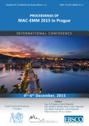 Proceedings of MAC-EMM 2015 in Prague