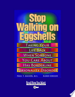[pdf - epub] Stop Walking on Eggshells - Read eBooks Online