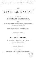 The Municipal Manual