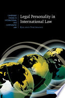 Legal Personality In International Law
