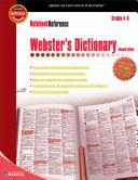Webster's Dictionary, Grades 4 - 8 [Pdf/ePub] eBook