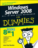 Windows Server 2008 All In One Desk Reference For Dummies