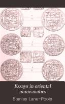 Essays in Oriental Numismatics