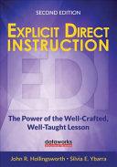 Explicit Direct Instruction  EDI  Book