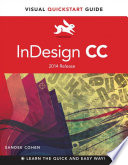 link to InDesign CC: Visual QuickStart Guide in the TCC library catalog