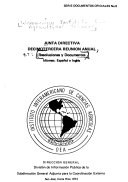 Reuni  n anual  resoluciones y documentos Book PDF