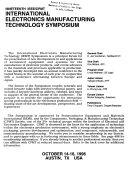 Nineteenth IEEE CPMT International Electronics Manufacturing Technology Symposium