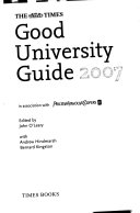 The Times good university guide 2007