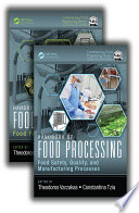 """Handbook of Food Processing, Two Volume Set"" by Theodoros Varzakas, Constantina Tzia"