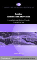 Reading Humanitarian Intervention