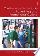 The Routledge Companion to Advertising and Promotional Culture Book