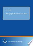 Managing Culture Clashes In M A S Book PDF
