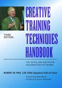 Creative Training Techniques Handbook