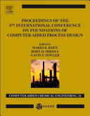 Proceedings of the 8th International Conference on Foundations of Computer Aided Process Design