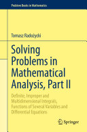 Solving Problems in Mathematical Analysis  Part II