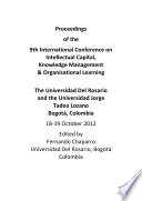 ICICKM2012-Proceedings of the 9th International Conference on Intellectual Capital, Knowledge Management and Organisational Learning