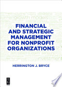 Financial and Strategic Management for Nonprofit Organizations  Fourth Edition