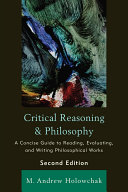 Critical Reasoning and Philosophy