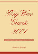 They Were Giants 2007