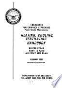 Heating  Cooling  Ventilating Handbook