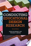 """""""Conducting Educational Design Research"""" by Susan McKenney, Thomas C Reeves"""