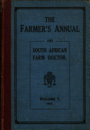 The Farmer s Annual and South African Farm Doctor